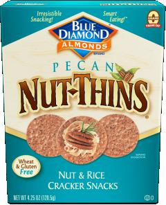 Blue Diamond Pecan Nut Thins