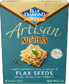 Blue Diamond Artisan Flax Seed Nut Thins