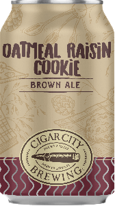 Cigar City Oatmeal Raisin Cookie / 4-pack cans
