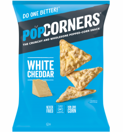 Popcorners White Cheddar - 7 oz Bag