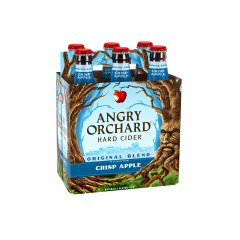 Angry Orchard Crisp Apple Cider / 6-pack bottles