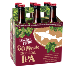 Dogfish Head 90 Minute IPA / 6-pack of 12-oz. bottles