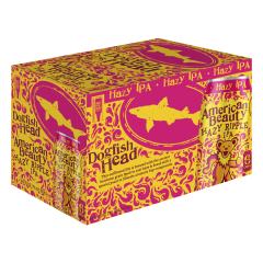 Dogfish Head American Beauty Hazy Ripple IPA / 6-pack cans