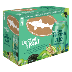 Dogfish Head SeaQuench Ale / 12-pack cans