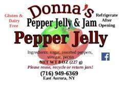Donna's Pepper Jelly & Jam Pepper Jelly