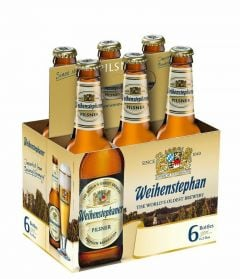 Weihenstephaner Pilsner - 6 Pack of 12 oz Bottles