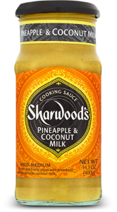 Sharwood's Pineapple & Coconut Milk Simmer Sauce
