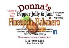 Donna's Pepper Jelly & Jam Pineapple Habanero