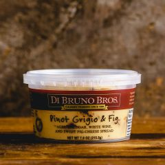 DiBruno Bros. Pinot Grigio & Fig Cheese Spread - 7.6 oz Container
