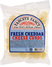 Yancey's Fancy Fresh Cheese Curds 8-9 Oz Portion