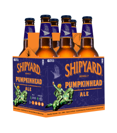 Shipyard Brewing Company Pumpkinhead Ale - 6 Pack of 12 oz Bottles