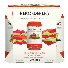 Rekorderlig Strawberry-Lime / 4-pack cans