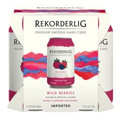 Rekorderlig Wild Berries / 4-pack cans