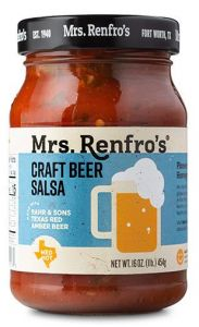 Mrs Renfros Craft Beer Salsa