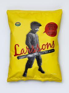 Larsson's Seasonal Potato & Sea Salt Chips - 4.41 oz Bag