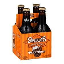 Stewart's Real Sugar Root Beer 4-pack