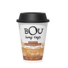 Bou Shiitake Mushroom & Beef Noodle Cup