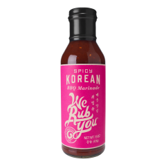 We Rub You Spicy Korean BBQ Sacue