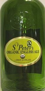 St Peters Organic English Ale