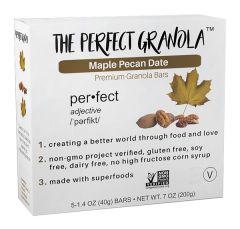 The Perfect Granola Maple Pecan Date Bar