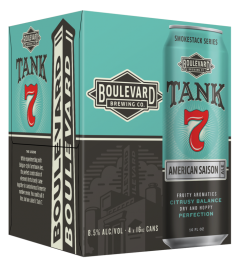 Boulevard Brewing Co. Tank 7 / 4-Pack cans