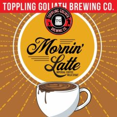 Toppling Goliath Mornin' Latte Imperial Coffee Milk Stout / 4-pack cans