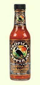 Tropical Pepper Co. XXXXtra Habanero Hot Sauce