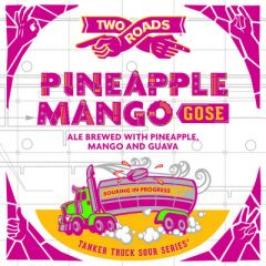 Two Roads Tanker Truck Sour Series: Pineapple Mango Gose  / 4-pack cans