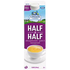 Upstate Farms Half 'n Half - 1 Qt