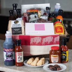Ultimate Buffalo Gift Basket (#125)