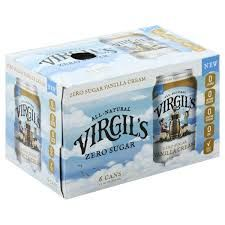 Virgils Zero Vanilla Cream 6-pack 12 oz cans