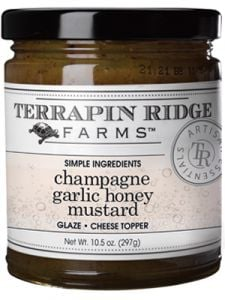 Terrapin Ridge Farms Champagne Garlic Honey Mustard 10.5 oz