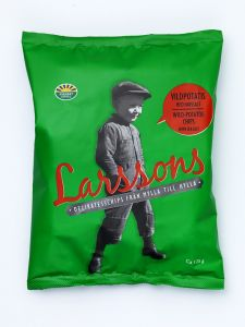 Larsson's Wild Potato & Sea Salt Chip - 4.41 oz Bag