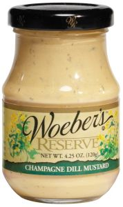 Woeber's Champagne Dill Mustard 5 OZ