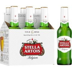 Stella Artois - 6 Pack of 12 oz Bottles