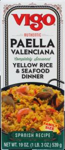 Vigo Paella Valenciana Yellow Rice & Seafood Dinner