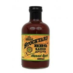 American Stockyard Apple Harvest BBQ Sauce 22 OZ