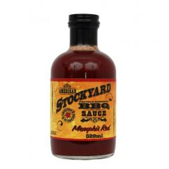 American Stockyard Memphis Red BBQ Sauce 22 OZ