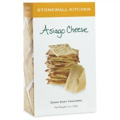 Stonewall Kitchen Asiago Cheese Crackers 5 OZ
