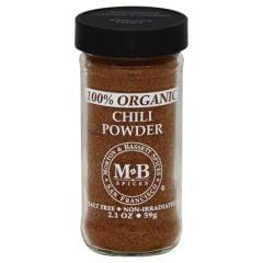 Morton & Bassett Organic Chili Powder