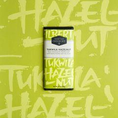 Seattle Chocolate Tukwila Hazelnut Milk Chocolate Bar