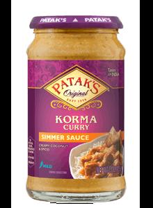 Patak's Mild Coconut Korma Curry Sauce