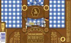 Thin Man Oktoberfest - 4 Pack of 16 oz Cans
