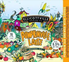 Ellicottville Brewing Company Pumpkinville Latte - 4 Pack of 16 oz Cans
