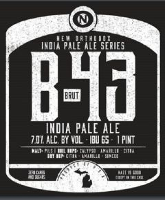 Old Nation Brewing Co. B-43 / 4-pack cans