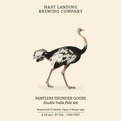 Mast Landing Brewing Co. Pantless Thunder Goose / 4-pack cans