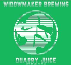 Widowmaker Brewing Quarry Juice - 4 Pack of 16 oz Cans