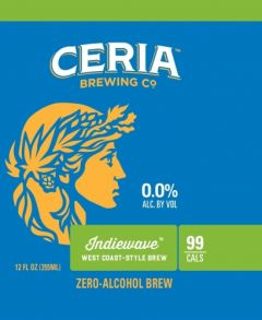 Ceria Brewing Co. Indiewave West Coast IPA - 6 pack of Cans