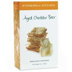 Stonewall Kitchen Beer Cheddar Crackers 5 OZ