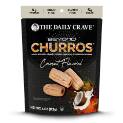 The Daily Crave Beyond Churros Coconut - 4 oz Bag